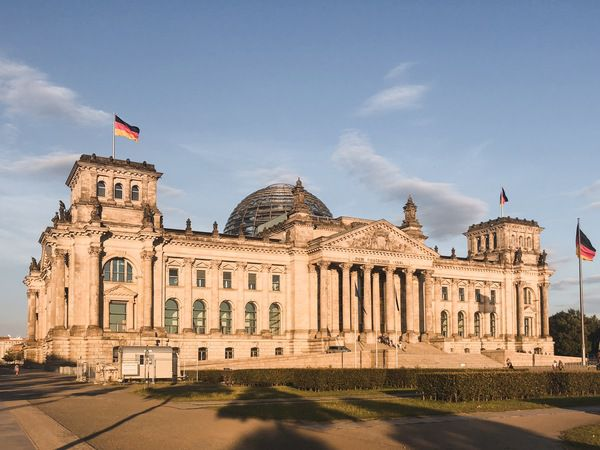 Cover small bundestag